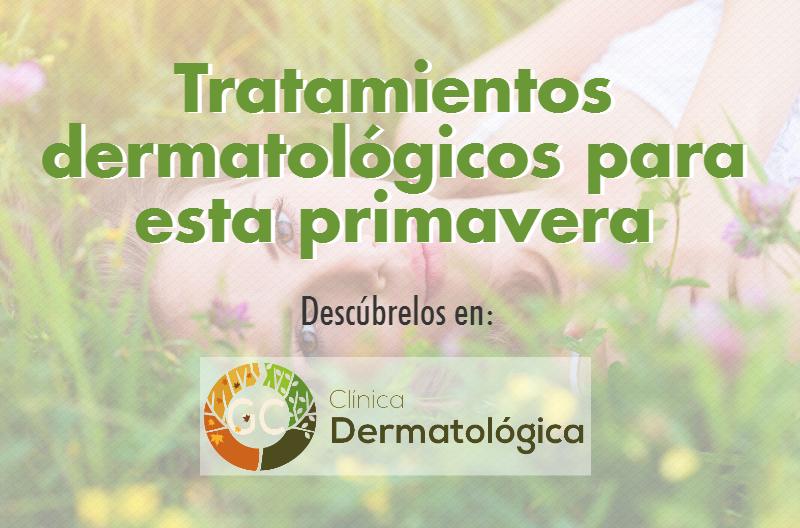 tratamientos dermatologicos primavera