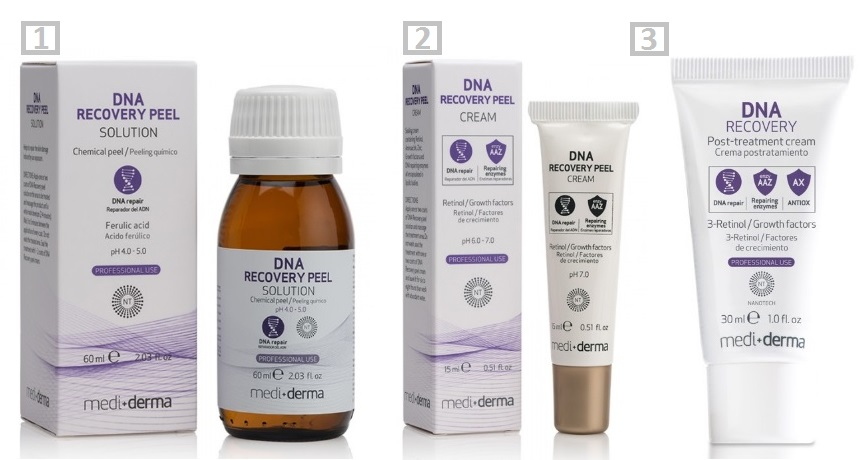 peeling dna recovery