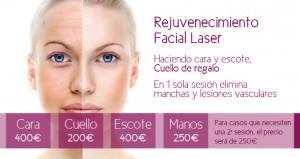Pack Rejuvenecimiento Facial Láser