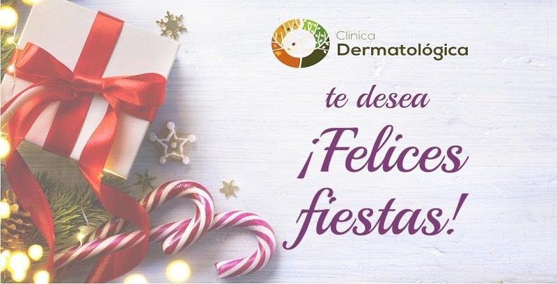 clinica dermatologica madrid te desea feliz navidad